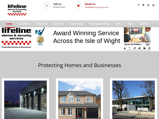 Lifeline Security | Alarms and Security Services