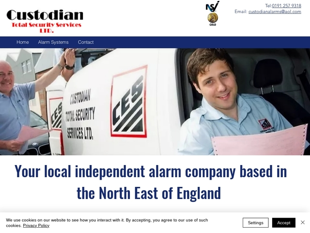 custodian alarms