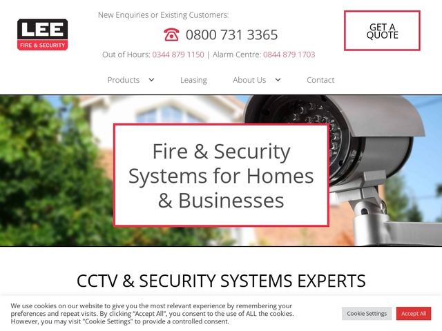 Lee Security - System installer of fire & security