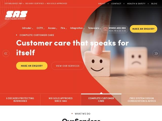 Select Alarms - CCTV & Burglar Intruder Alarms Specialist
