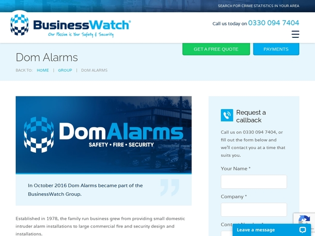 Domalarms Security and Electrical Services