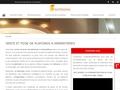 Polycristal : pose de plafonds près de Lille