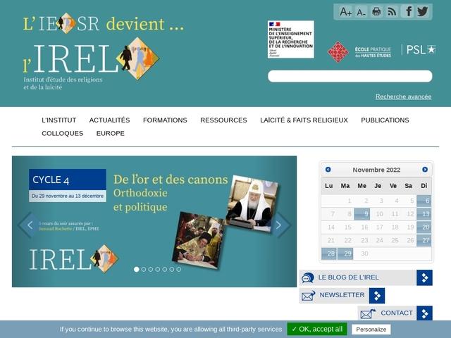 Institut Européen en Sciences des Religions