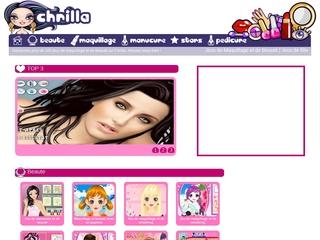 Chrilla.com: Jeux de coiffure et de maquillage