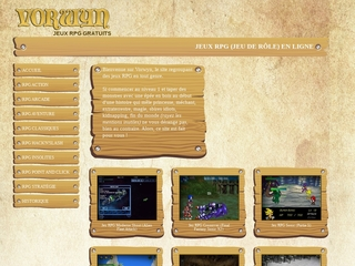 Vorwyn, des jeux RPG en flash gratuits