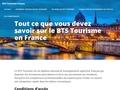 Tourisme France : BTS tourisme