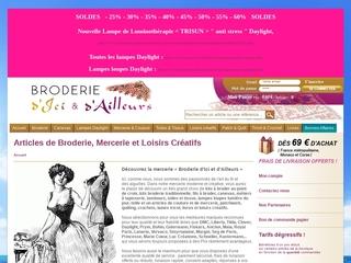 BRODERIE D'ICI ET D'AILLEURS