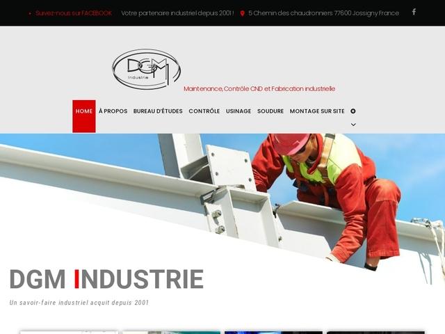 D.G.M-Industries sas ( 77) -B-E -Maint Indust -Contrôle-CND -