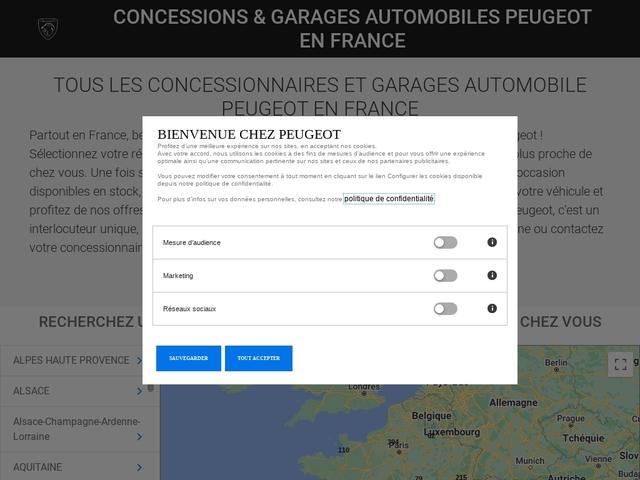 BERNAUDEAU AUTOMOBILES, concessionnaire Peugeot