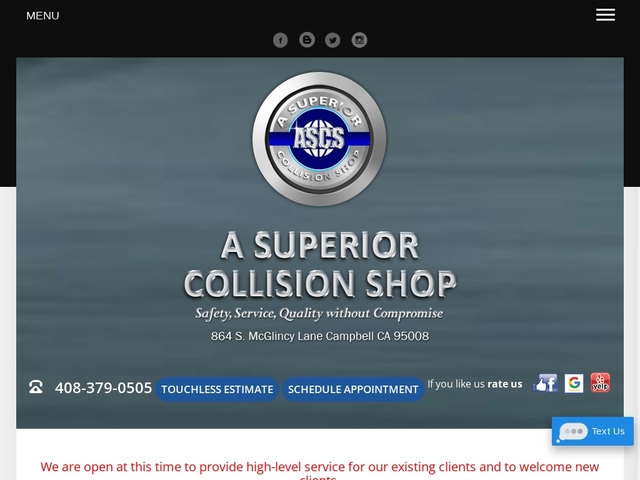 A Superior Collision Shop