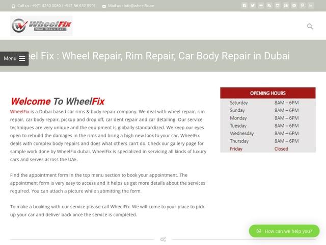 car wheel repair