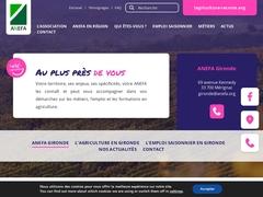 Adefa Gironde - Association Emploi et Formation en Agriculture