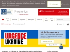 MSA - Provence Azur accueil