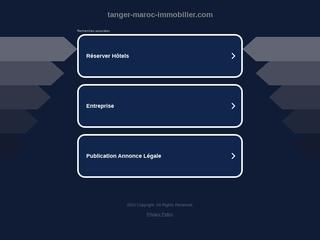Tanger immobilier