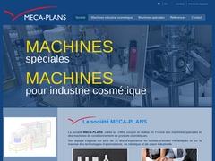 Meca-Plans Sarl - (26) - B-E Ing Mécanique - Mach Spéciales.