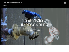PLOMBIER PARIS 6 - YANNICK