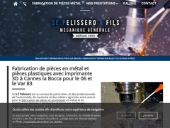 Pelissero & Fils sas - (06) - M.G-Précis - Usinage - Prototypage