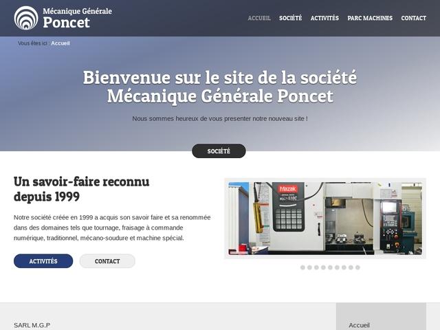 M.G-Poncet Sarl - (01) - M.G-Précis -Décolletage -Mach Spéciale