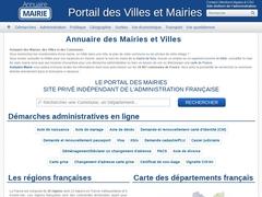 Annuaire mairies de France