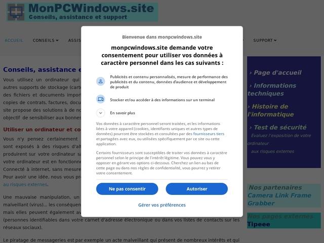 Mon PC Windows