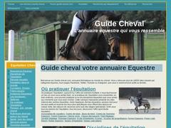 guide cheval