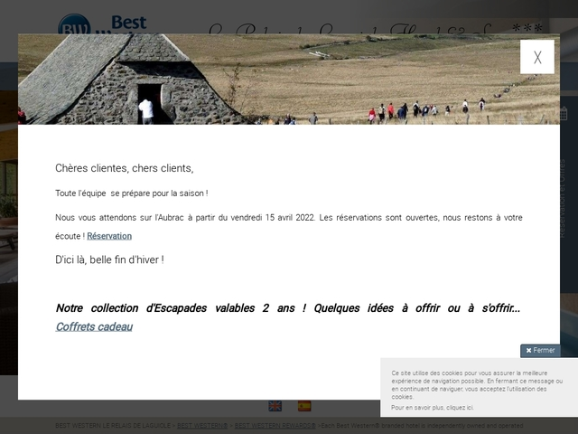Best Western Le Relais de Laguiole ***