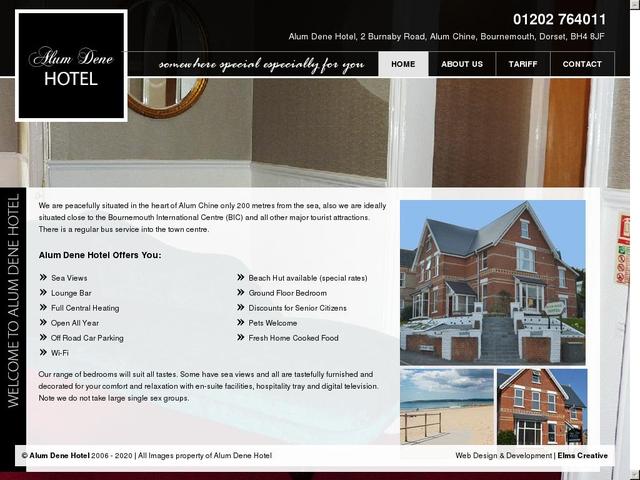 Alum Dene Hotel - Bournemouth - Dorset - England.