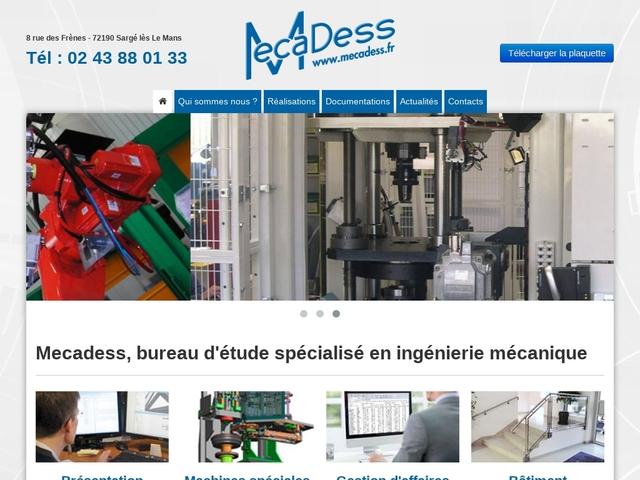 Mecadess Sarl - (72) - B-E Ing Mach Spéciales Industries.