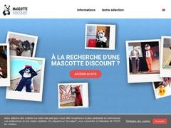 Mascotte Discount : achat mascotte discount