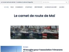Le trimaran Dragonfly, la navigation à voile et mouillages