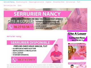 Serrurier jour férié Nancy