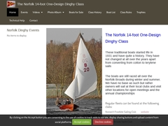 The Norfolk One Design Dinghy