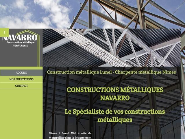 Constructions Metalliques Navarro Sarl - (34) -Constr Métall