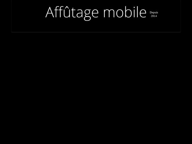 Affûtage Mobile Valdenaire sas - (68) - Affûtage outils tranchants