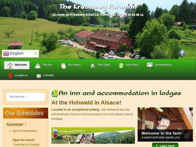 Ferme Auberge du Kreuzweg en Alsace