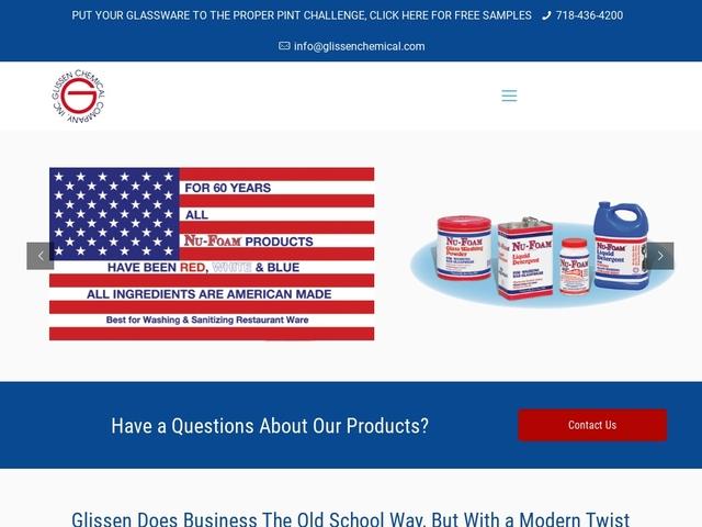 Glissen Chemical Co Inc