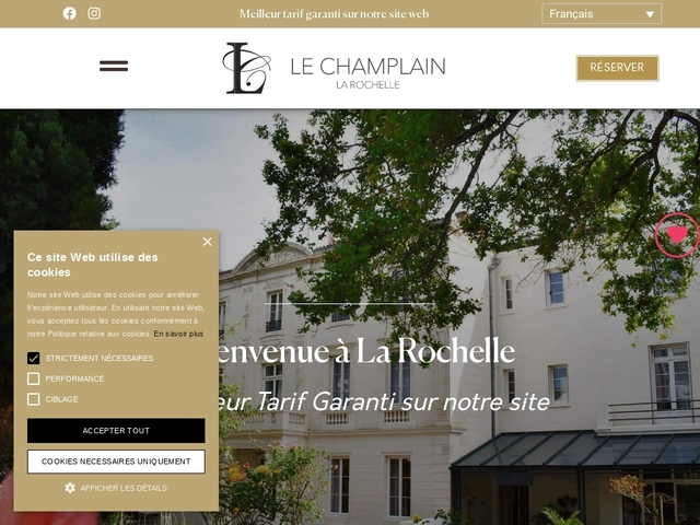 Best Western Champlain France Angleterre ***