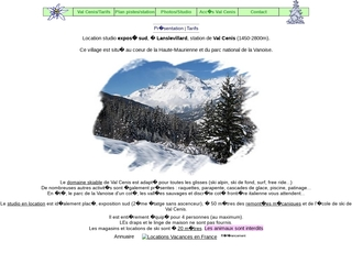 Location de ski au pied des pistes, à Val Cenis