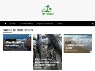 Madère-Madeira : Guide de voyages et vacances