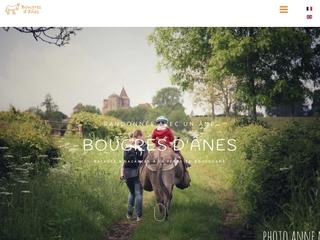 Randonnée avec un âne en Bourgogne