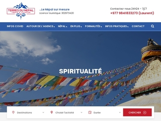 Terres du nepal trek et tourisme