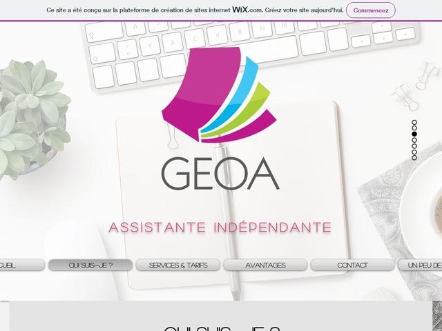 CHARBONNIERES LES BAINS - GEOA SERVICES assistante indépendante