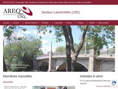 Areq (CSQ) Secteur Laurentides 10 E