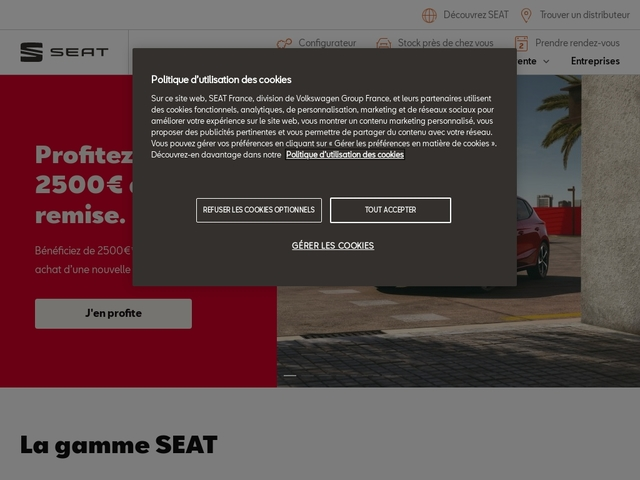 SEAT - vente voiture, véhicule neuf, SEAT occasion   SEAT