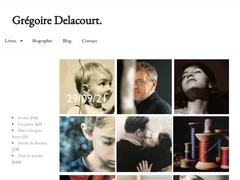 Site et blog de l'écrivain Grégoire Delacourt