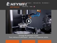 Heymel Mécanique Sarl - (69) -M.G-Précis -Fabricant Mach.