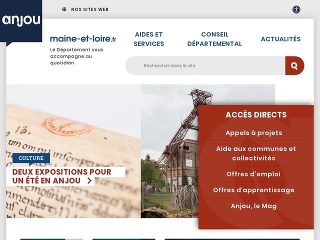 Conseil Départemental du Maine et Loire
