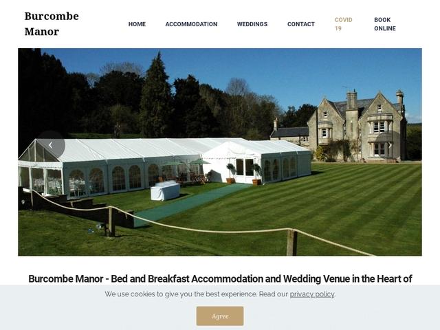 Burcombe Manor - Salisbury - Wiltshire - England.