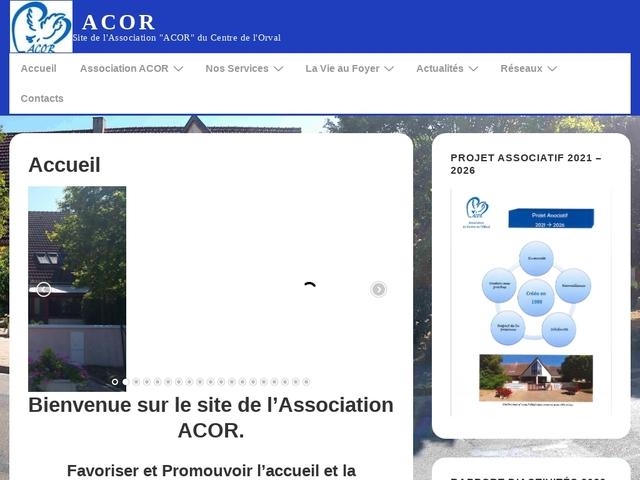 """Site de l'Association """"ACOR"""" du Centre de l'Orval"""