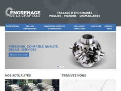 Engrenage de la Chapelle Sarl - (43) - Taillage - Fabrication